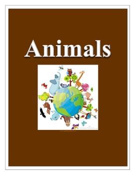 Animal Outline, Jeopardy Game, and Test
