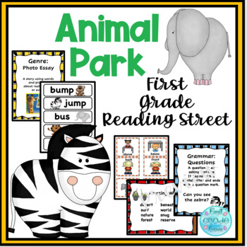 Animal Park Reading Street Resources