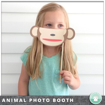 Photo Booth Props Animals