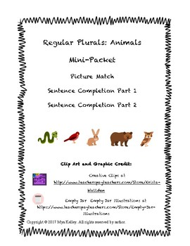 Animal Plurals Mini-Pack
