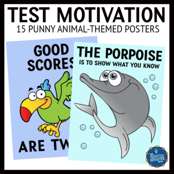 Test Prep Motivational Posters