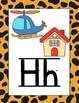 Animal Print Alphabet Posters