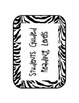 Animal Print Guided Reading Labels