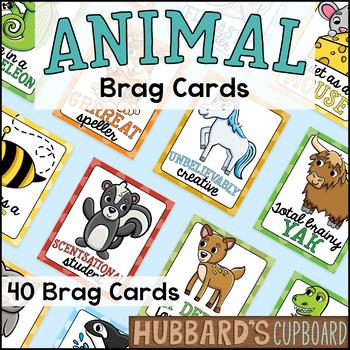 Animal Pun Brag Tags