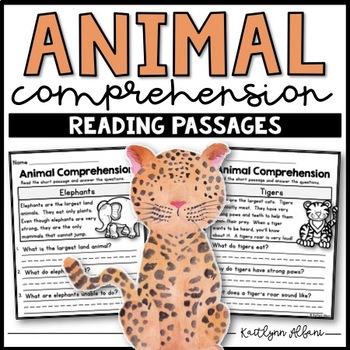 Animal Reading Comprehension Passages