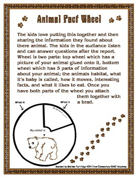 Animal Report Wheel