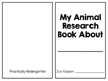 Animal Research Book for Documenting Researched Information
