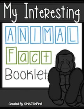 Animal Research Booklet