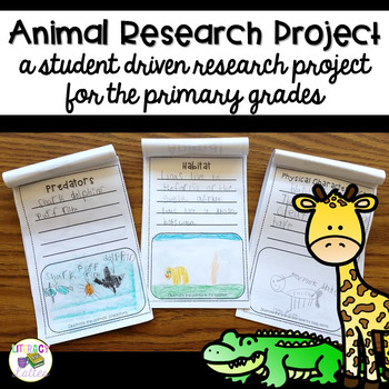 Animal Research Booklet and Classroom Zoo Unit