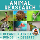 Animal Research Papers ~ Read about Africa Oceans Desert A
