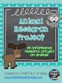 Animal Research Project {An Informative Research Project o