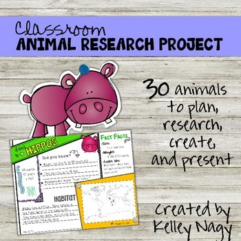 Classroom Animal Research Project