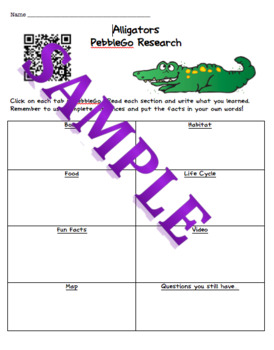 Animal Research QR code