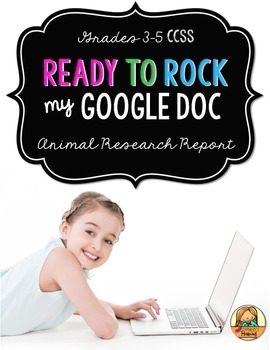 Animal Research Report: Multi-Draft Informative Writing us