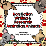 Animal Research and Non Fiction Writing: Australian Animals