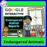 Animal Research Reports for Google Classroom and One Drive