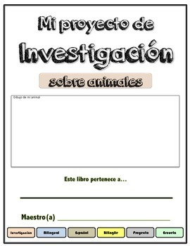 Animal Research (in spanish)