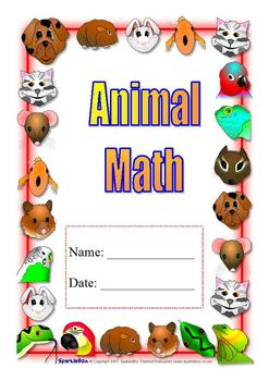 Animal Theme Math Unit, Self Contained special ed; Boardma