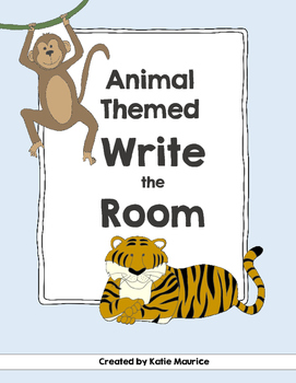 Animal Themed Write the Room