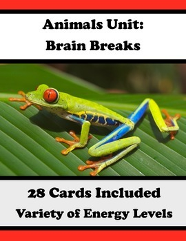 Brain Breaks with Animal Theme