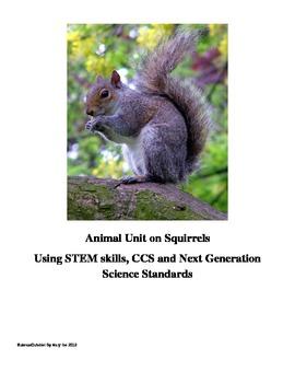 Animal Unit on Squirrels Using STEM Skills, CCS and Next G