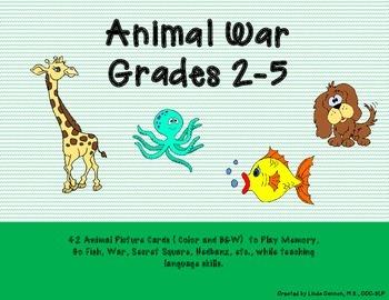 Animal War, Grades 2-5