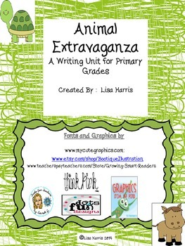 Animal Writing for the Primary Grades