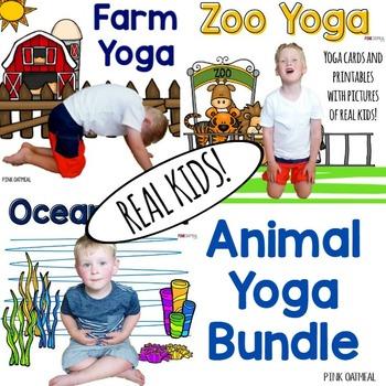 Animal Yoga Bundle- Real Kids