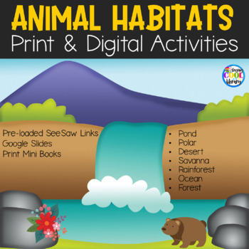 Animals and Their Habitats - Mini book Bundle