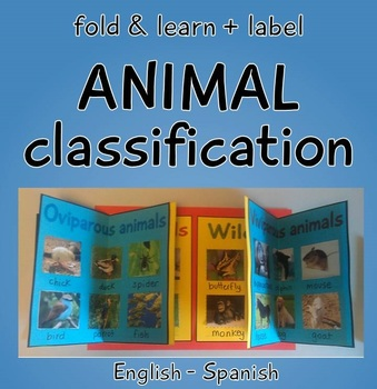 Animal classification fold and learn