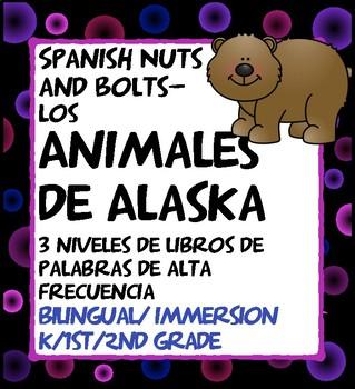 Animales de Alaska: 3 libros de palabras de alta frecuenci
