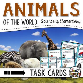 Animals Activity Task Cards
