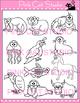 Clip Art Animals Alphabet Add-On for the Mega Value Pack