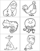 Alphabet Memory (Animals)
