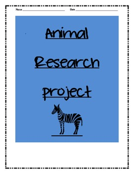 Animals! Animals! Research an Animal!