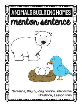 Animals Building Homes Mentor Sentence
