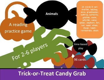 Animals Candy Grab Game