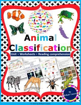 Animals Classification Pack - Teaching whole animal kingdo