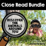 Animals Close Read Bundle