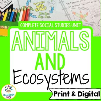 Animals {Complete Science Unit}