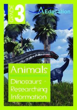Animals - Dinosaurs (II): Researching Information - Grade 3