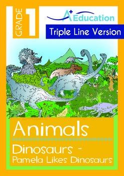 Animals - Dinosaurs: Pamela Likes Dinosaurs (with 'Triple-