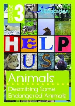 Animals - Endangered Animals (III): Describing Some Endang
