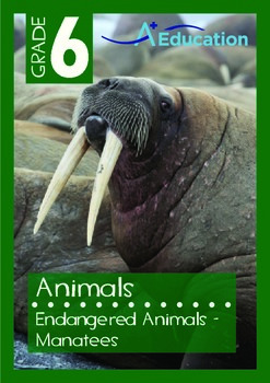 Animals - Endangered Animals (III): Manatees - Grade 6