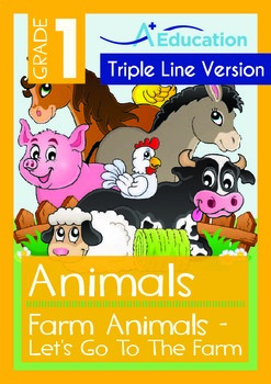 Animals -Farm Animals (III): Let's Go To The Farm ('Triple