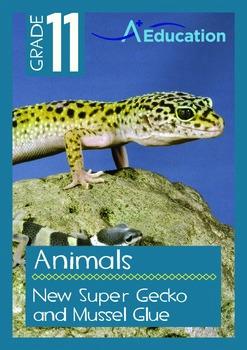 Animals - New Super Gecko and Mussel Glue - Grade 11