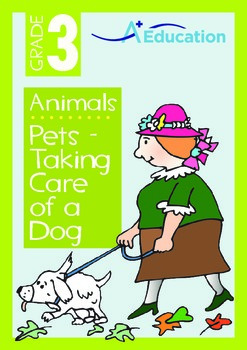 Animals - Pets (I): Taking Care of a Dog - Grade 3