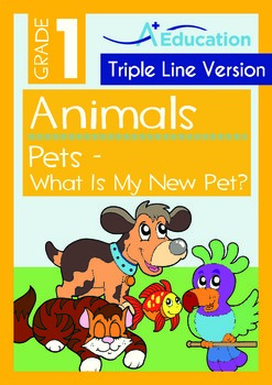 Animals - Pets (III): What Is My New Pet (with 'Triple-Tra