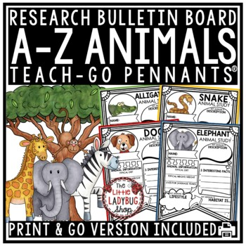 Animals Research Project & Rubric