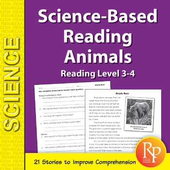 Animals: Science-Based Reading